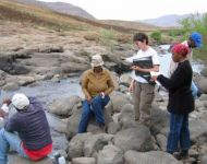 Lesotho IFR 9  water quality sampling us of site photo 1