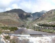 berg river above dam 12 June 2007