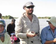 CATE/ALLIE/REMBU/JOHAN TRAVEL BETWEEN EF SITES, NILE RIVER, SUDAN