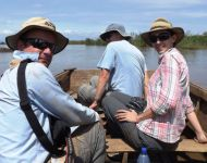 Karl Drew Kat survey Elephant Marsh Malawi